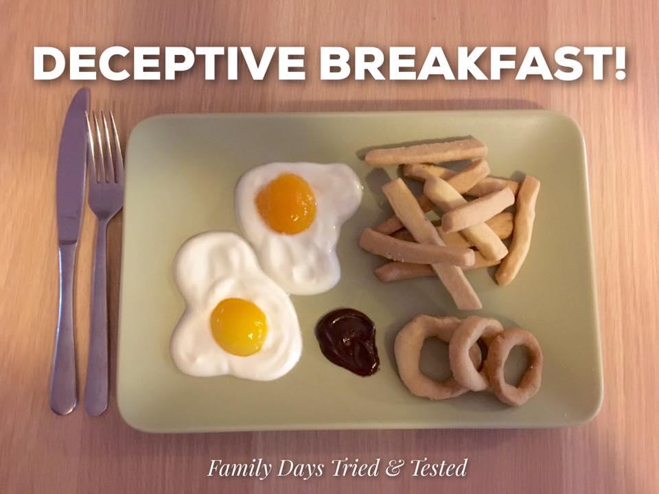 fun deceptive breakfast
