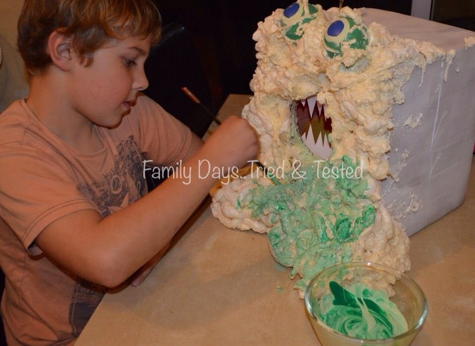 Loot Giving Expanding Foam Monster