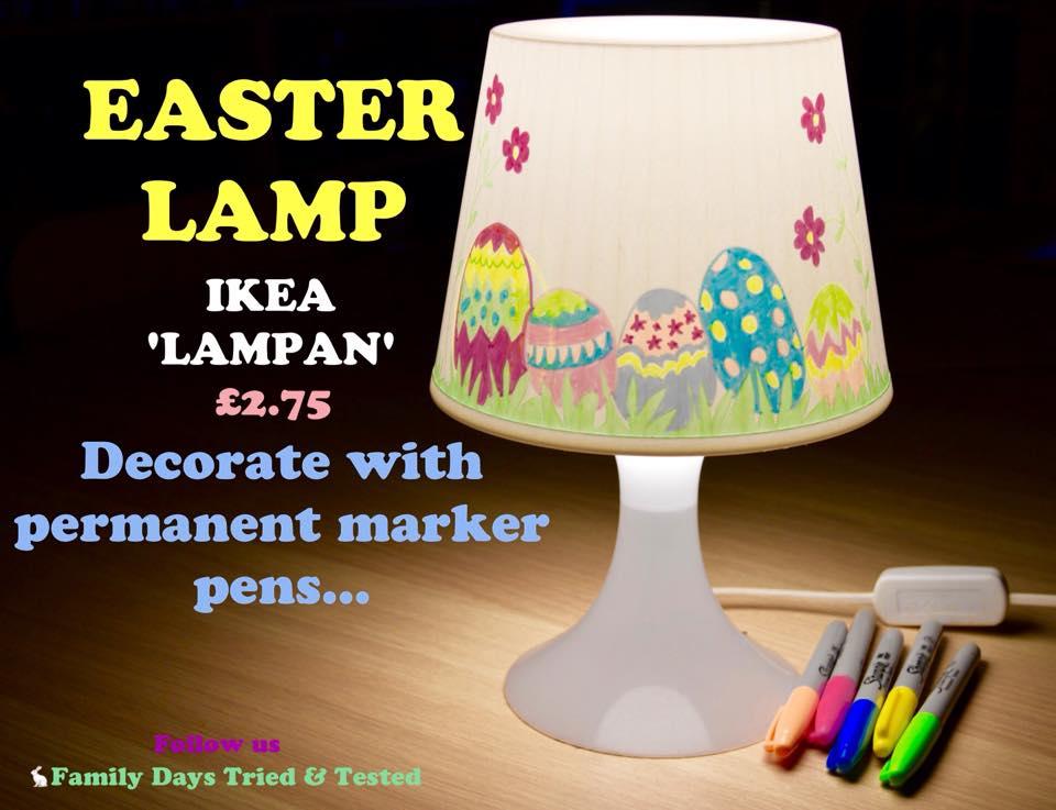 Easter & Spring Ideas = Easter lamp