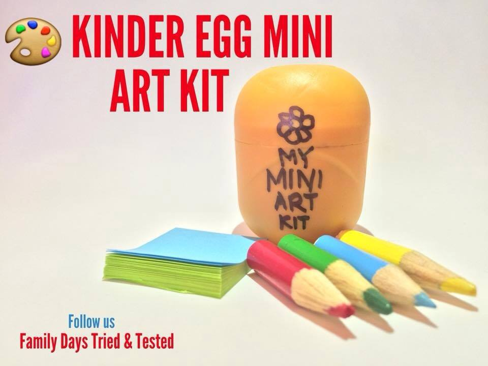 Easter & Spring Ideas - Kinder Egg Mini Art Kit