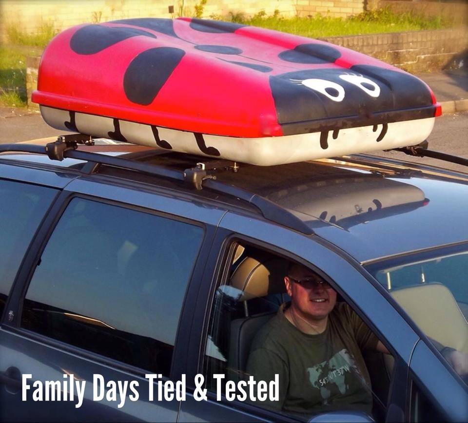 Roof Box Painting Family Days Tried And Tested