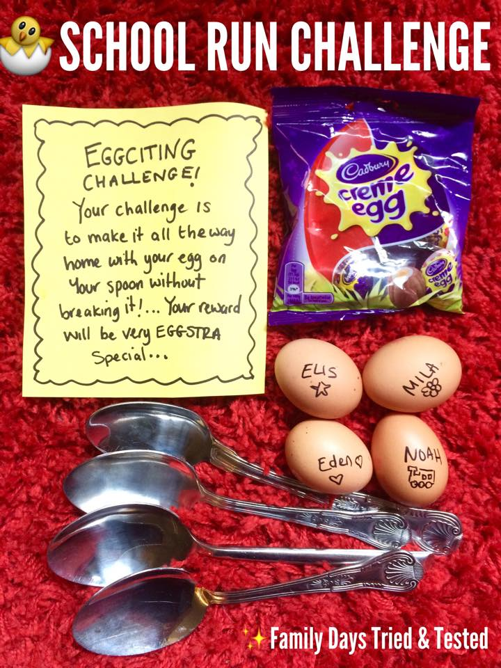 Easter & Spring Ideas - egg and spoon race