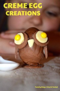 Easter & Spring Ideas - Creme Egg Owl
