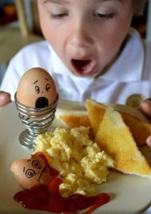 Easter & Spring Ideas - fun with eggs