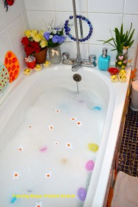 Easter & Spring Ideas - Springtime Easter Bath