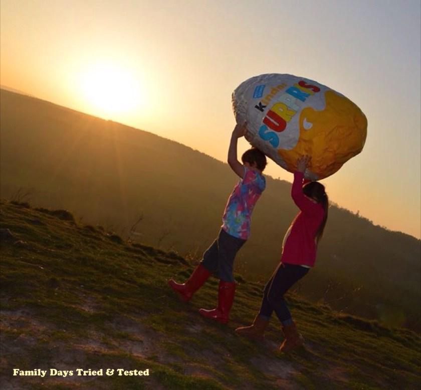 Easter & Spring Ideas - Huge Kinder egg