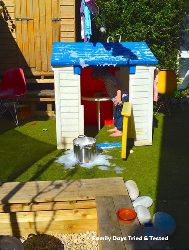 how to renovate a play house
