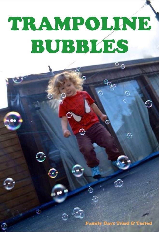 trampoline bubbles