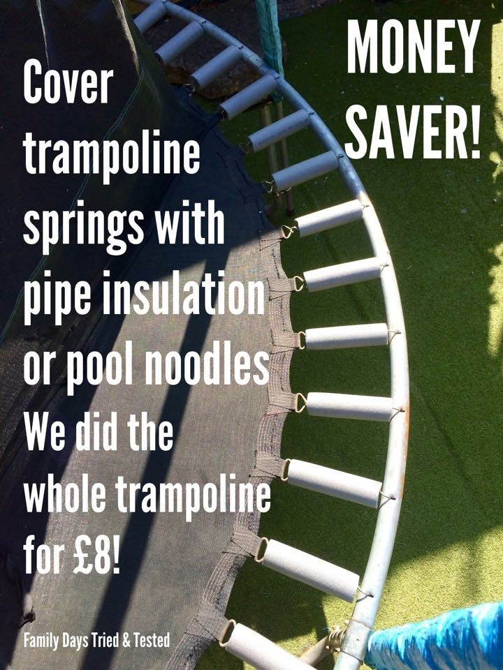 trampoline ideas