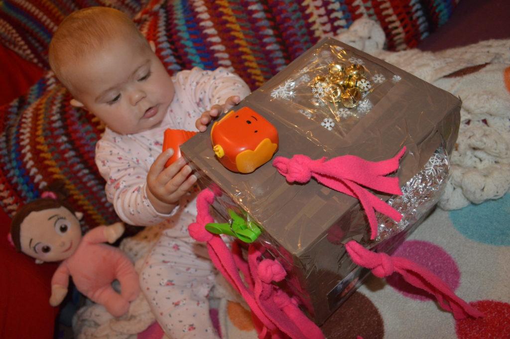 Baby Sensory Cube