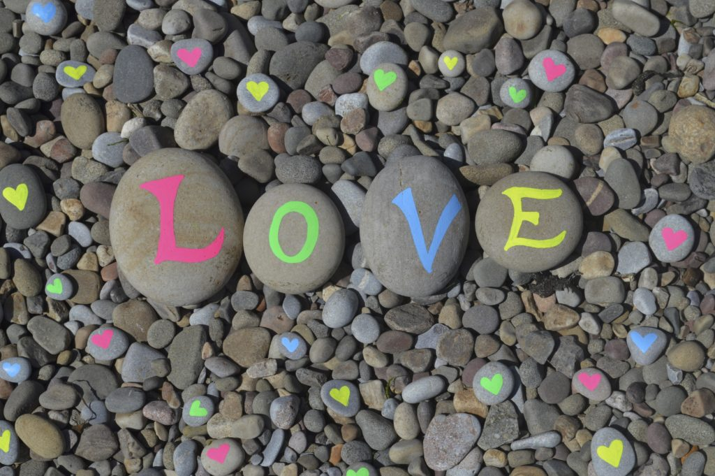 Looking for love with chalk pens