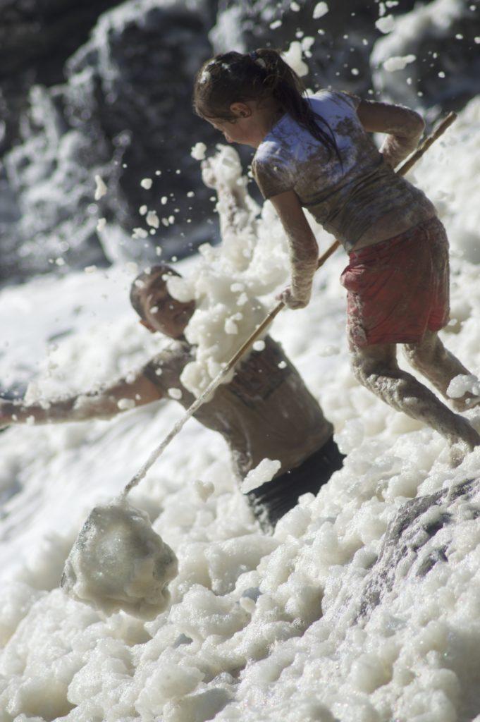 Natural Ocean Foam Pools