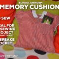 School Uniform Memory Cushion