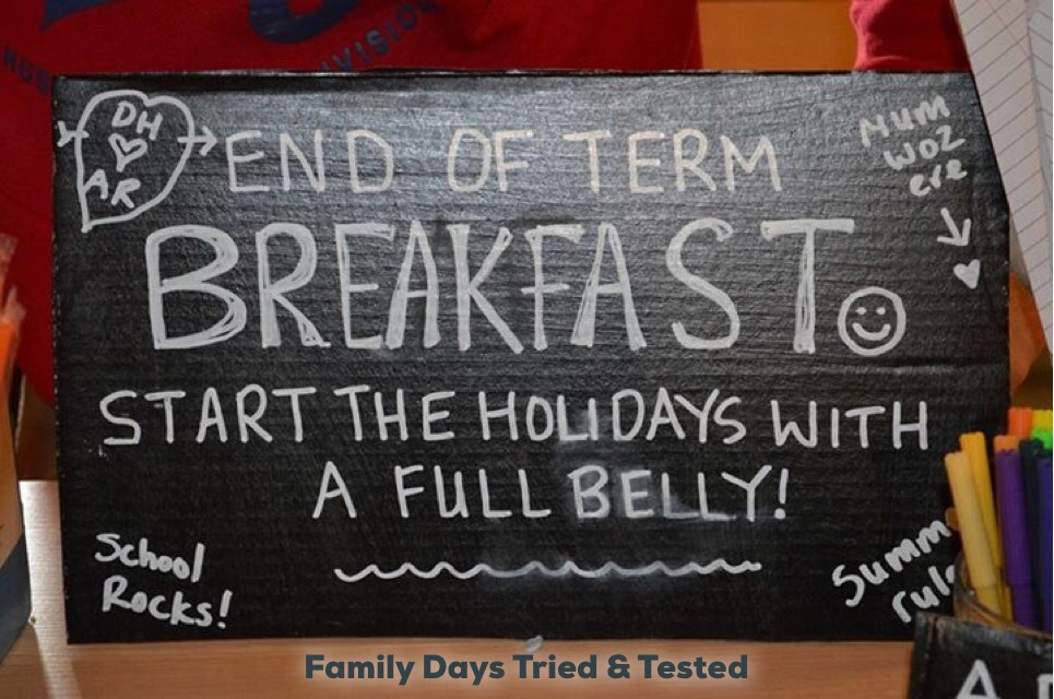 End of Term Breakfast