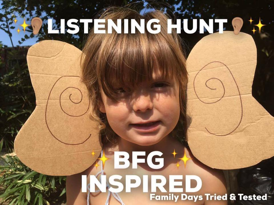 BFG Listening Hunt