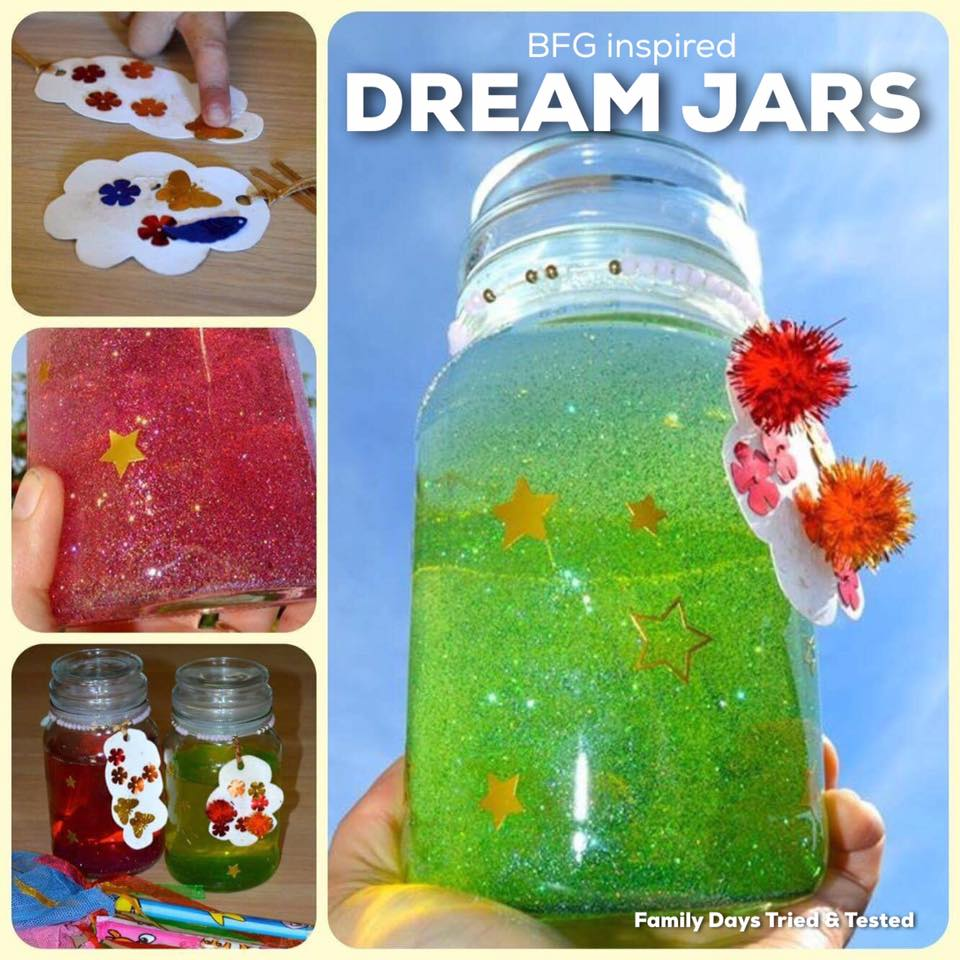 BFD Inspired Dream Jars