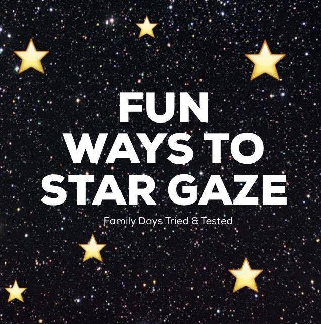 Fun ways to star gaze