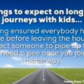 Expectations On Long Car Journeys With Kids