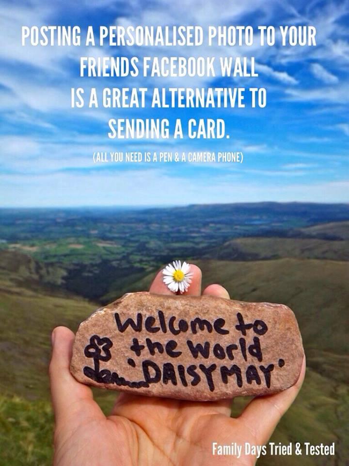 Birthday ideas - personalised greetings