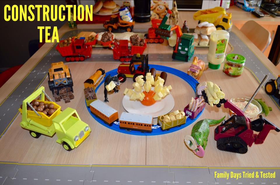 Birthday ideas - CONSTRUCTION SITE PARTY TEA