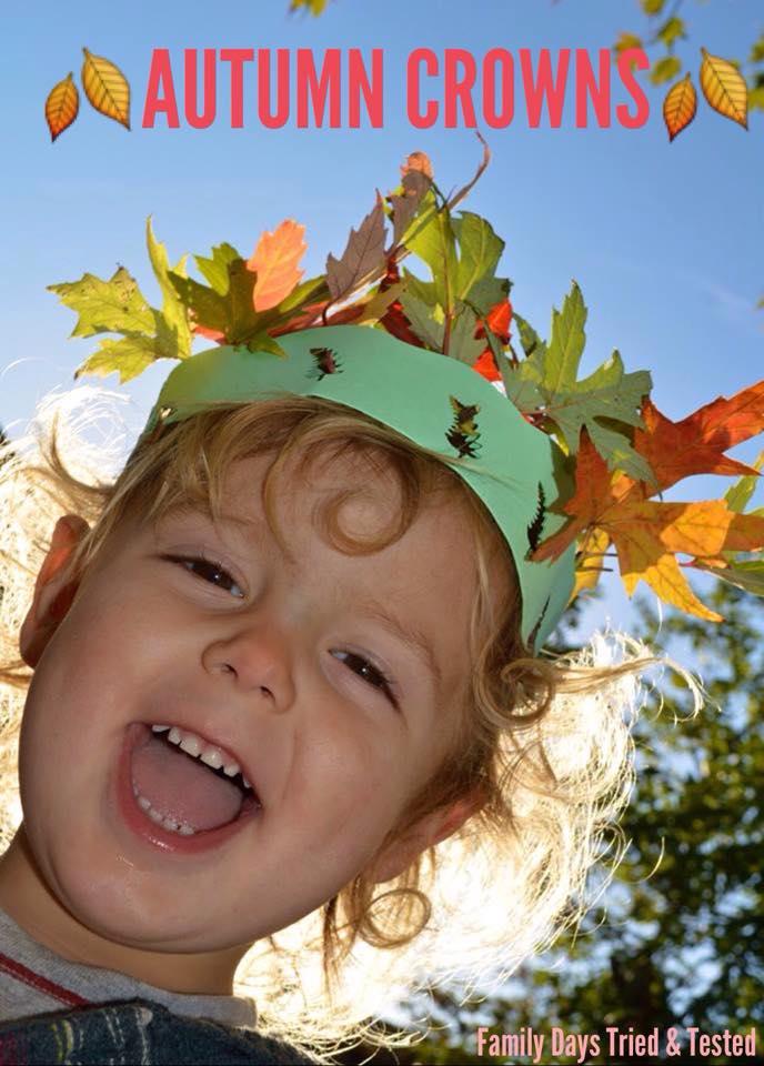 Autumn Activities for Kids - autumn crowns