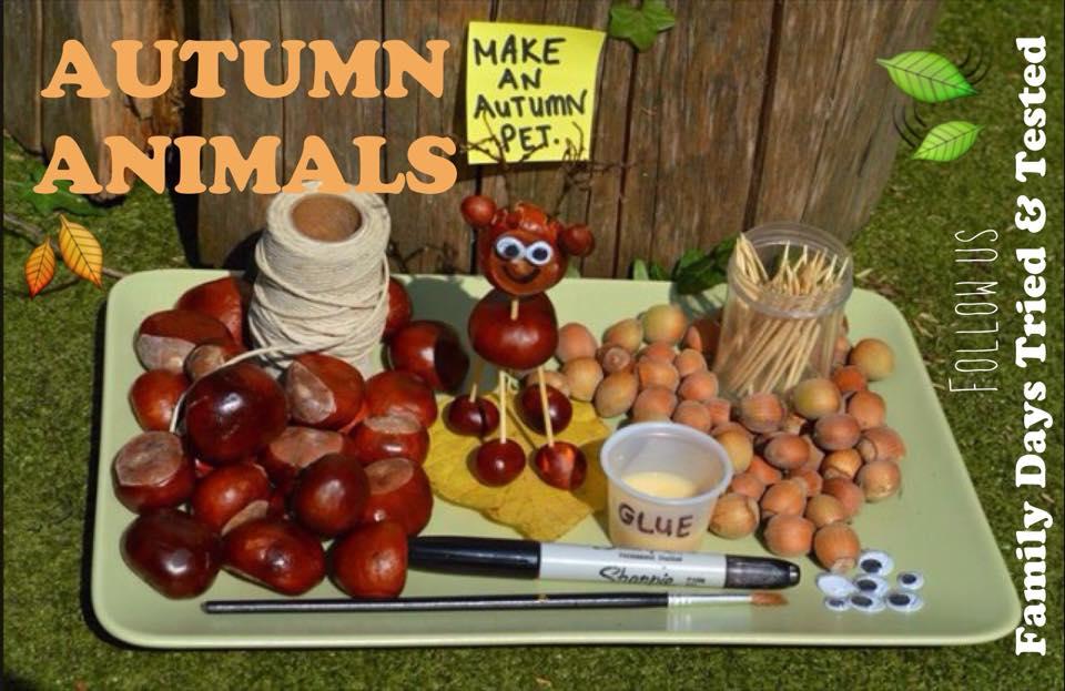 Autumn Activities for Kids - autumn animals