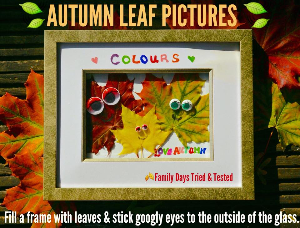 Autumn Activities for Kids - autumn leaf pictures