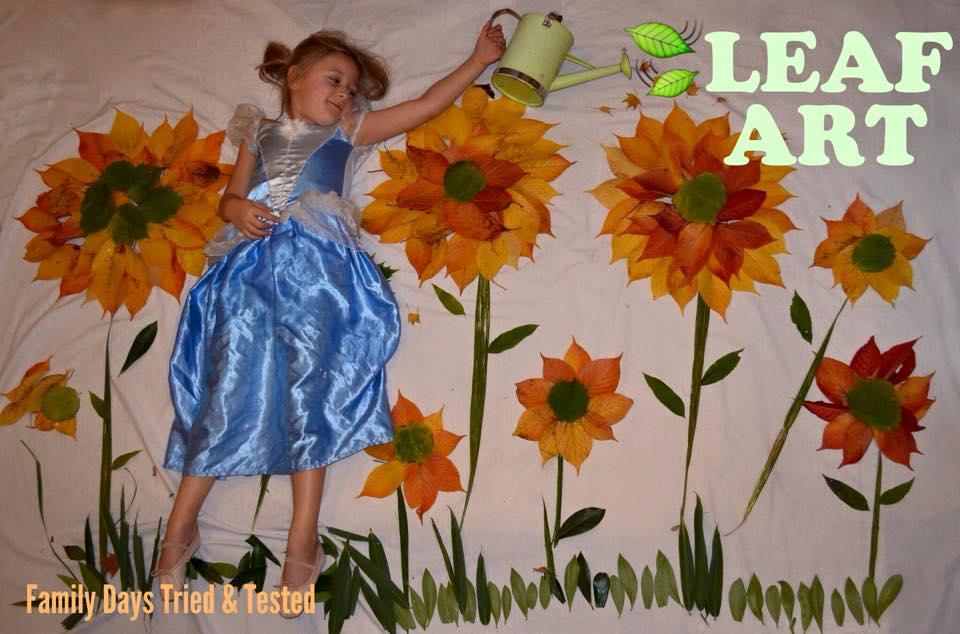 Autumn Activities for Kids - leaf art