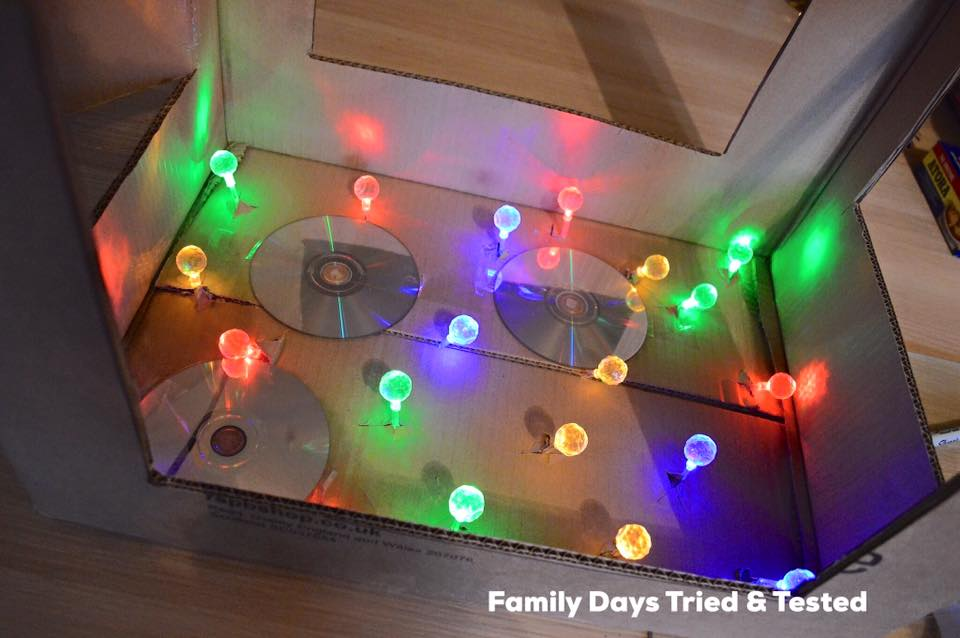 Baby Sensory Den - the lights on