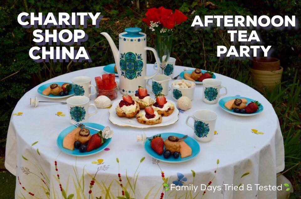 Birthday ideas - CHARITY SHOP CHINA TEA PARTY