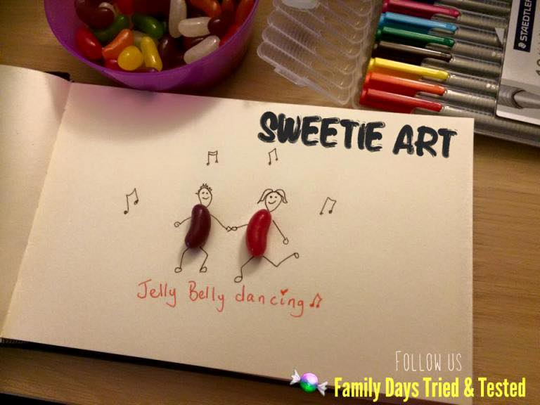 Friday Night family fun ideas - Sweetie Art