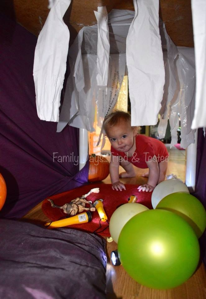 Halloween for Toddlers - Under Table Haunted House
