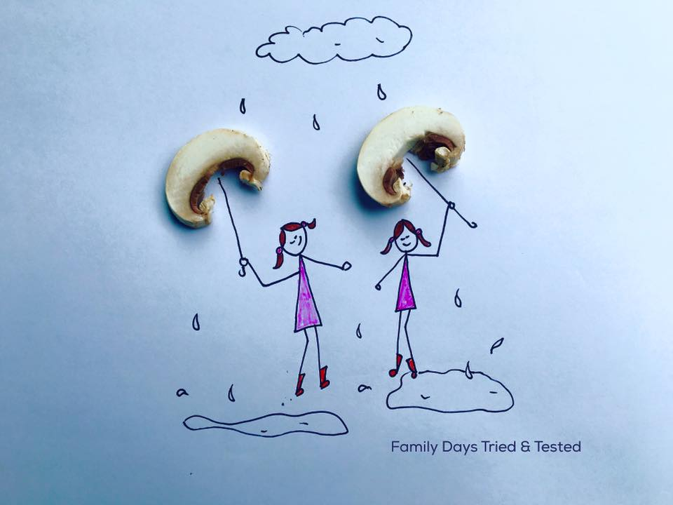 Friday night family fun ideas - food art