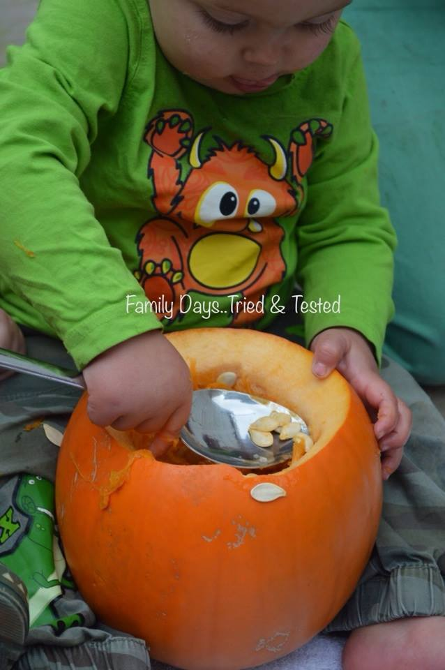 Halloween for Toddlers - Pumpkin Carving