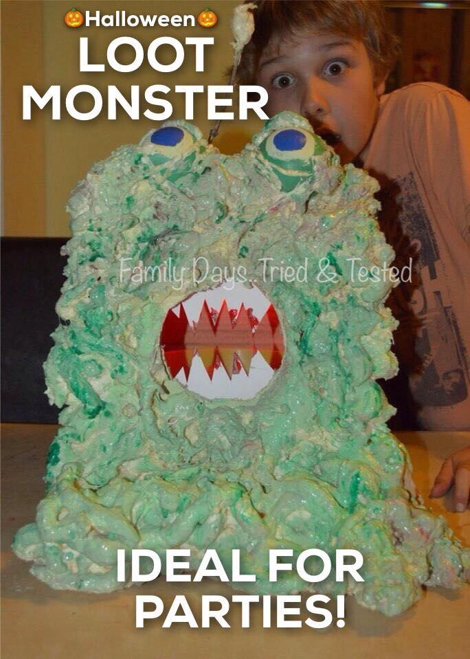 Halloween activities for kids - Loot Monster