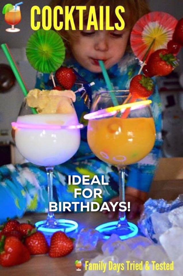 Birthday ideas - birthday cocktails