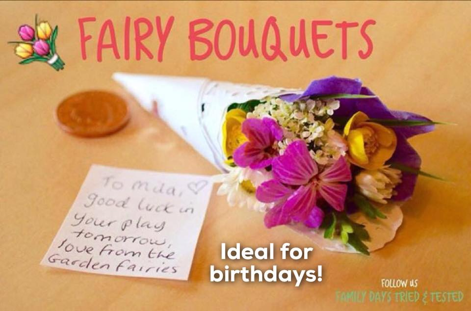 Birthday ideas - Fairy Bouquets