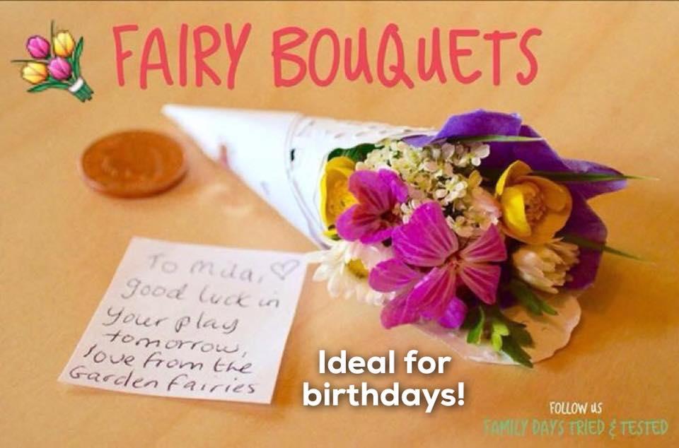 Birthday ideas - Fairy Bouquets