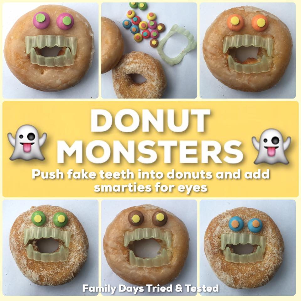 Donut Monsters