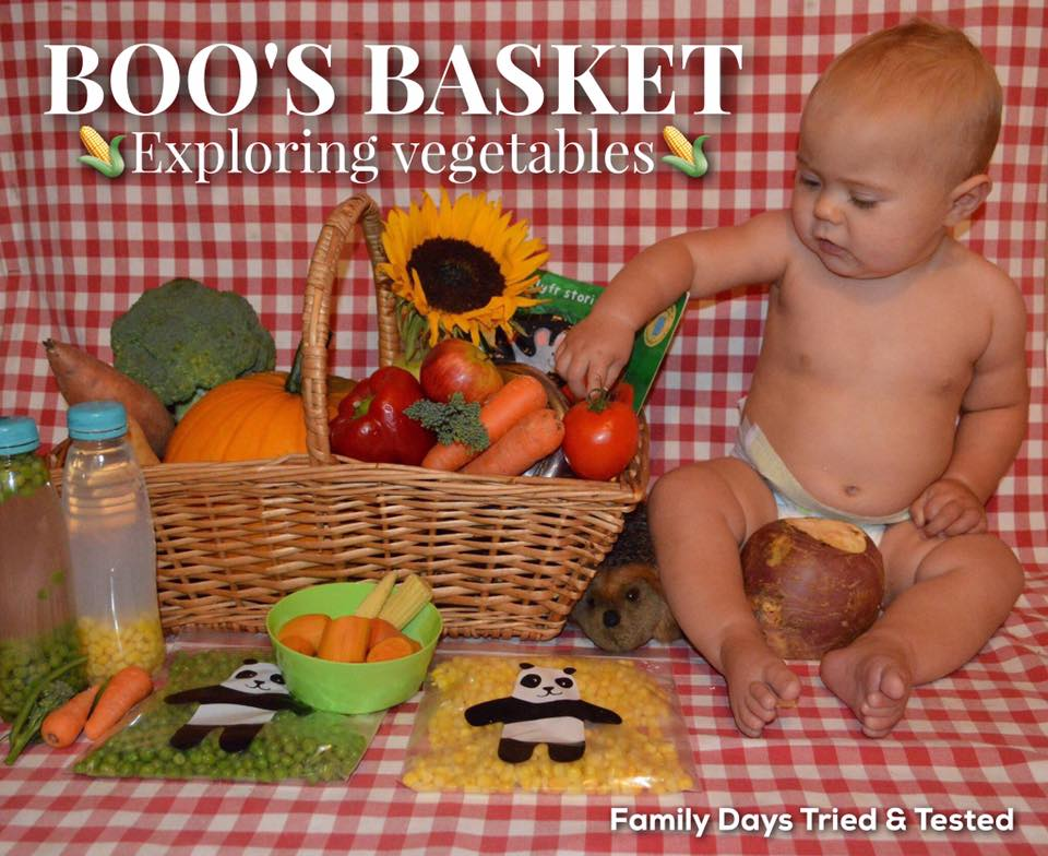 Boo's Basket - Exploring Vegetables