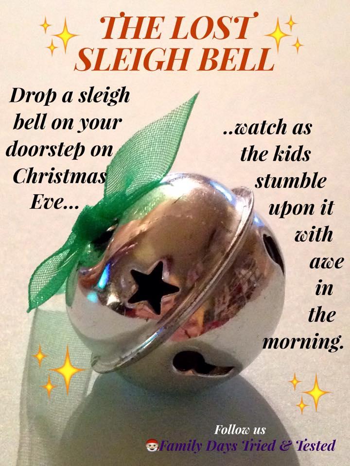 Santa's lost sleigh bell
