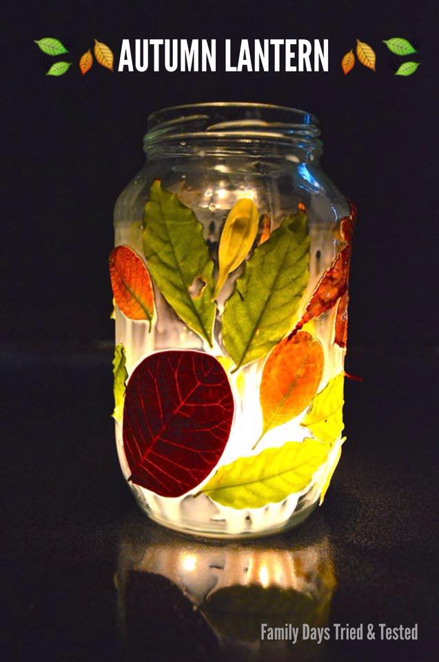 Autumn Activities for Kids - autumn lantern