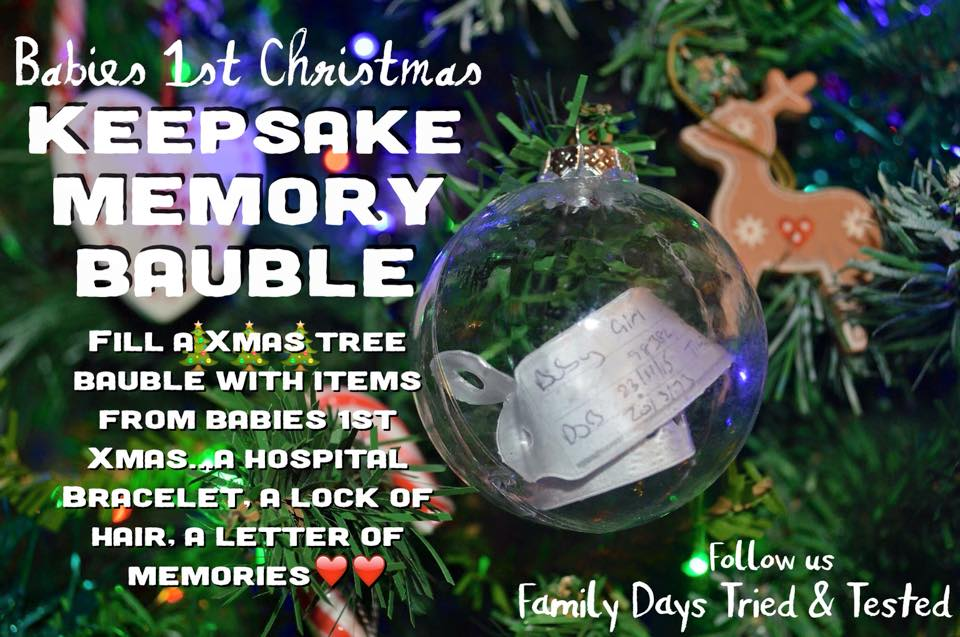 Keepsake memory bauble