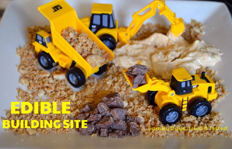 Birthday ideas - EDIBLE BUILDING SITE