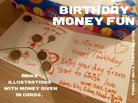 Birthday ideas - PERSONALISED BIRTHDAY MONEY CARDS