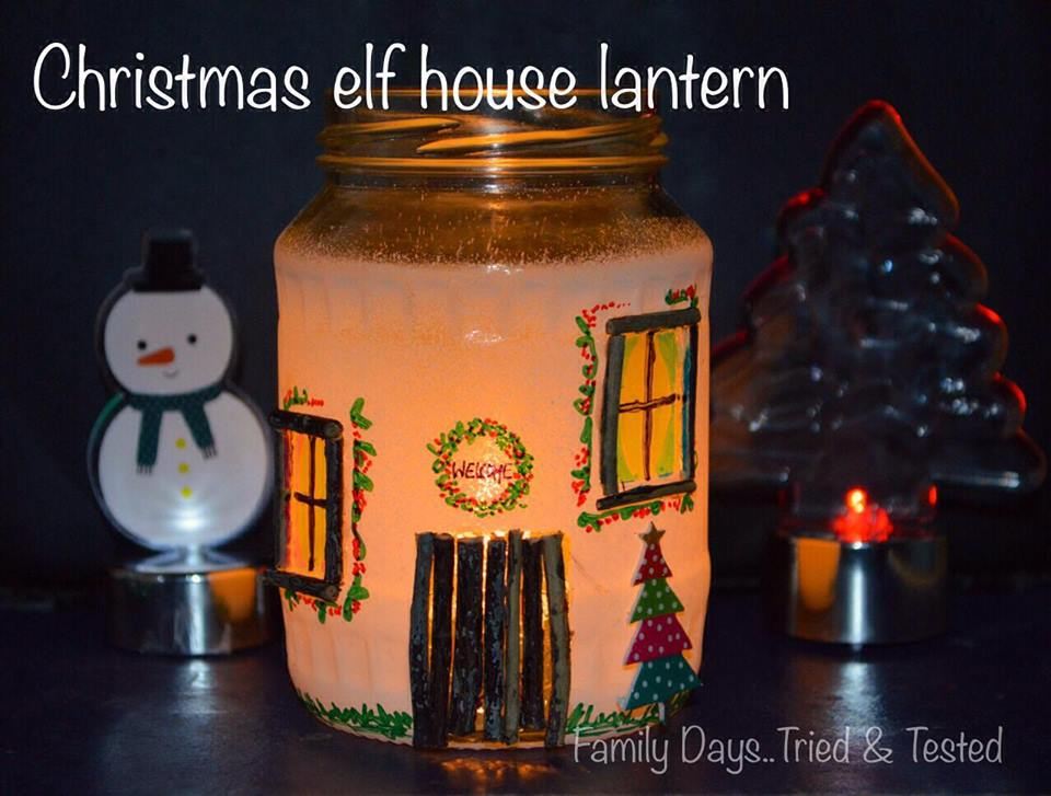 CHRISTMAS ELF LANTERNS