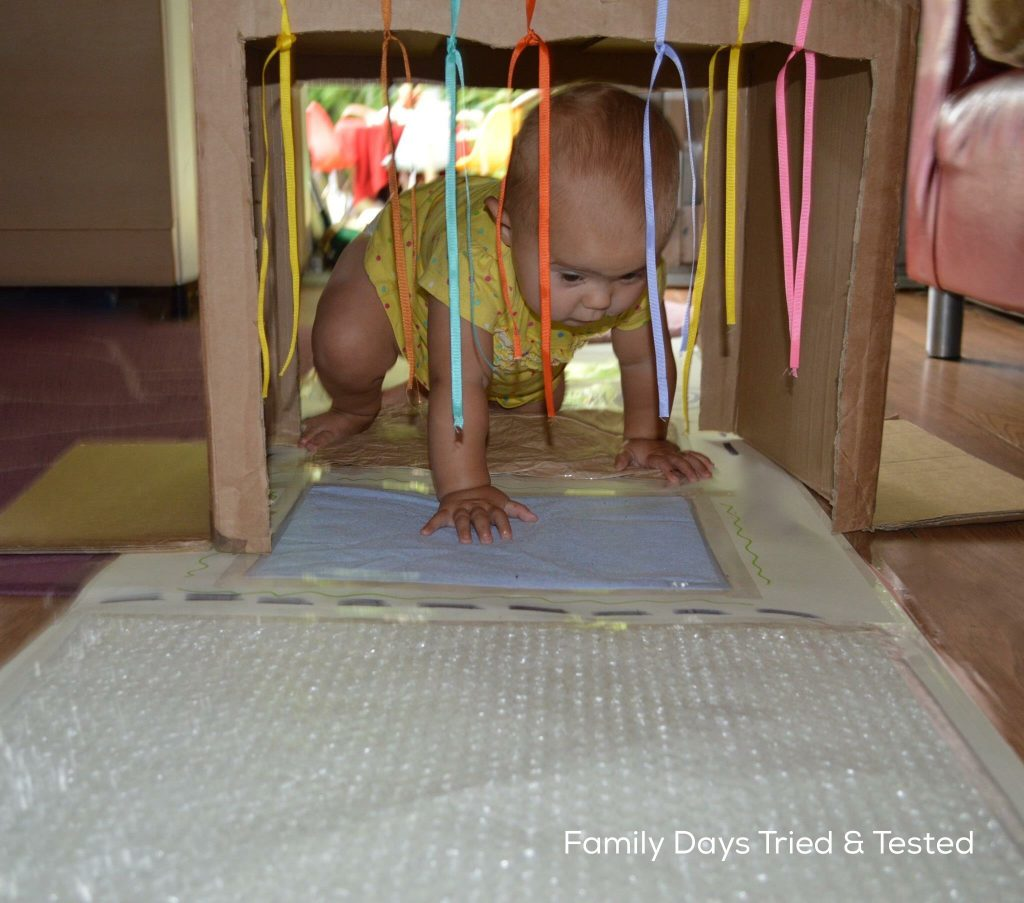 baby sensory play mat - play tunnel