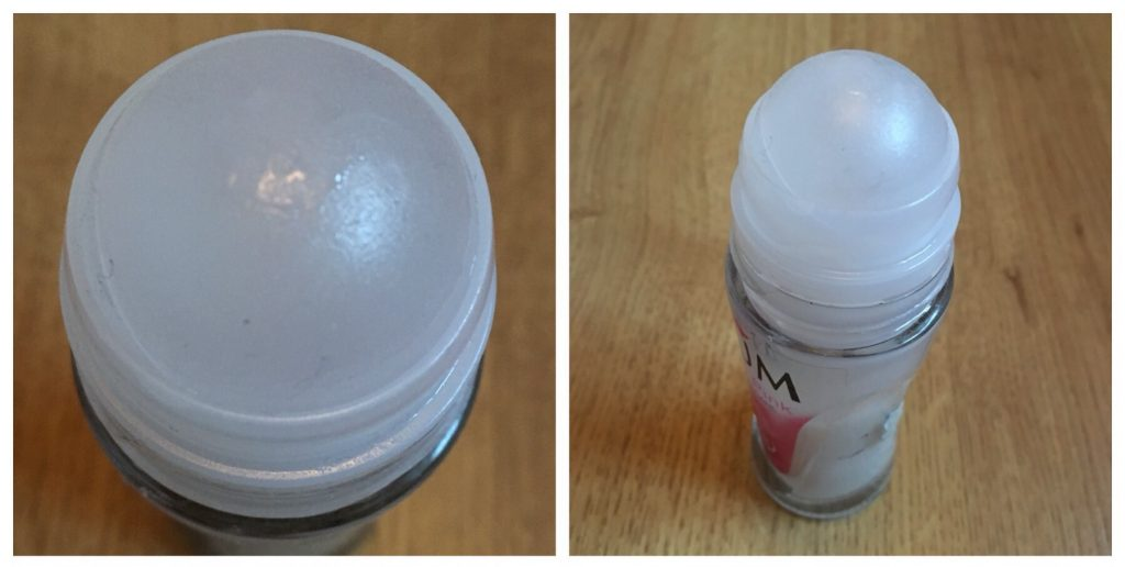 Close up challenge - roll-on deodorant
