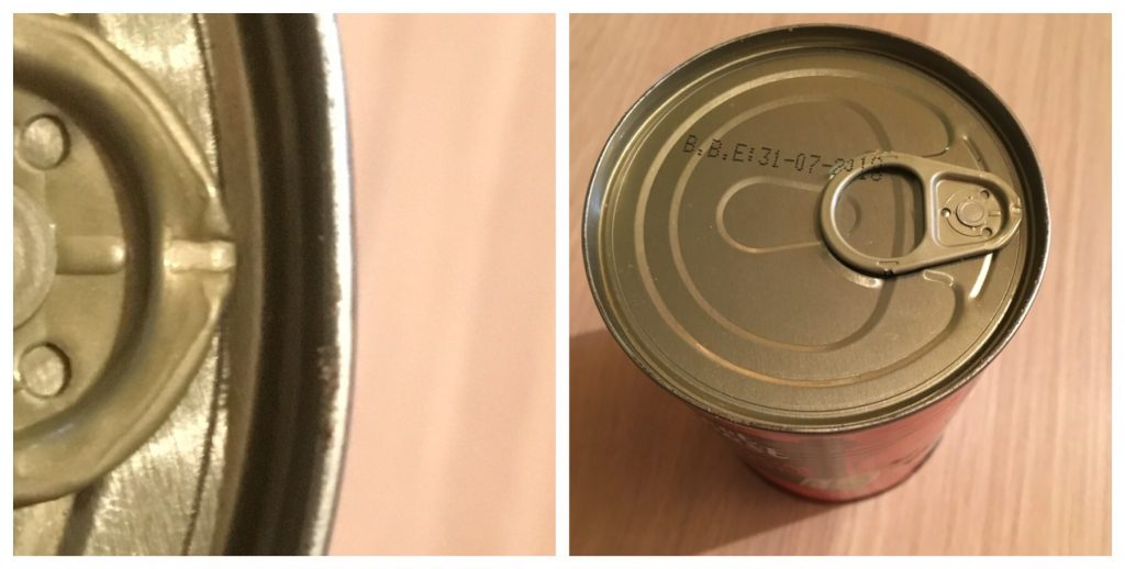 Close up challenge - a tin can
