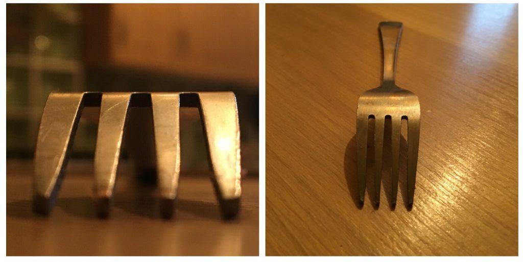 Close up challenge - a fork